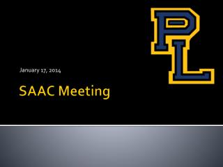 SAAC Meeting
