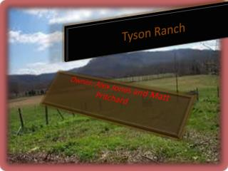 Tyson Ranch