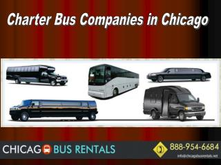 Charter Bus Companies in Chicago