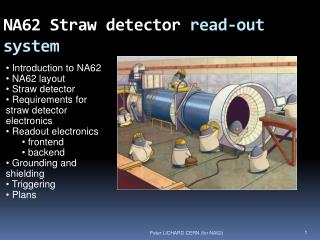 NA62 Straw detector  read-out system