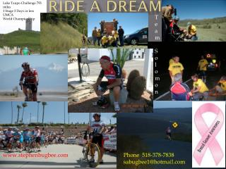 RIDE A DREAM