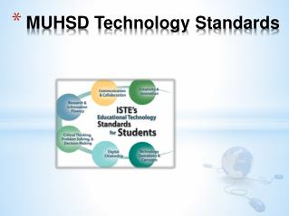 MUHSD Technology Standards