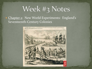 NEW WORLD EXPERIMENTS: ENGLAND S  SEVENTEENTH-CENTURY COLONIES