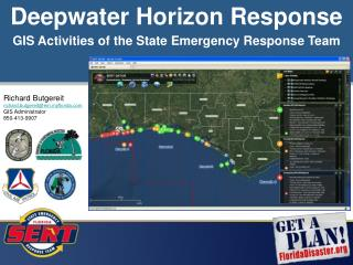 GIS Activities of the State Emergency Response Team