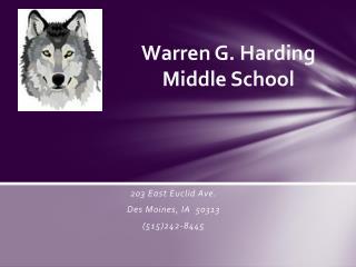Warren G. Harding  Middle School