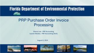 PRP Purchase Order Invoice Processing