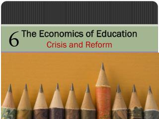 The Economics of Education Crisis and Reform