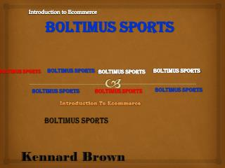 Boltimus  Sports