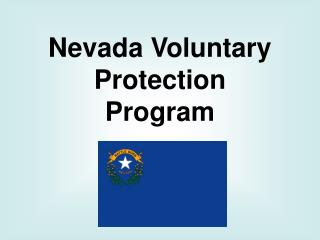 Nevada Voluntary Protection Program