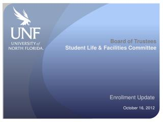 Board of Trustees Student Life & Facilities Committee