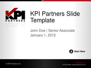 KPI Partners Slide Template