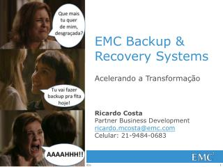EMC Backup & Recovery Systems