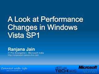 A Look at Performance Changes in Windows Vista SP1