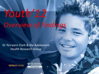 Youth'12 National  Health and  Wellbeing  Survey