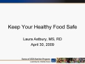 Keep Your Healthy Food Safe