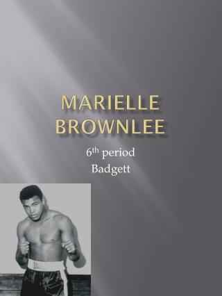 Marielle brownlee