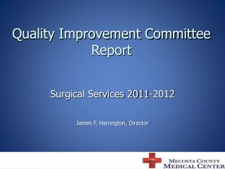Quality Improvement Committee Report