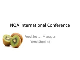 NQA International Conference