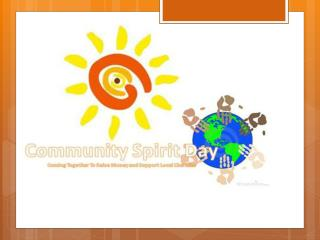 Community Spirit Day: What is it about?