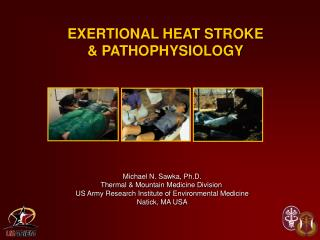 EXERTIONAL HEAT STROKE  & PATHOPHYSIOLOGY