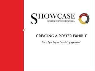 CREATING A POSTER EXHIBIT For High Impact and Engagement