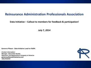 Reinsurance Administration Professionals Association