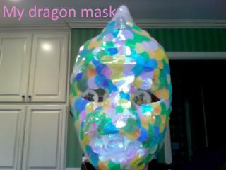 My dragon mask
