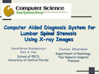 Computer Aided Diagnosis System for Lumbar Spinal Stenosis  Using X-ray Images