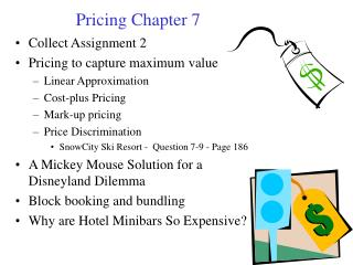 Pricing Chapter 7