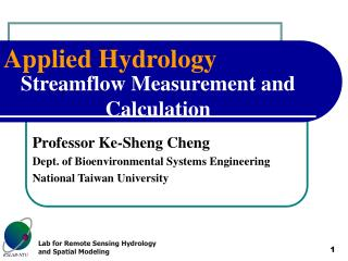 Streamflow Measurement and Calculation