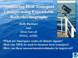 Monitoring Heat Transport Changes using Expendable Bathythermographs