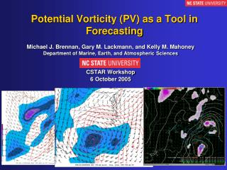 Potential Vorticity (PV) as a Tool in Forecasting