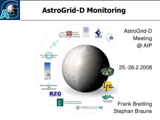 AstroGrid-D Monitoring
