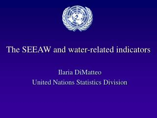 The SEEAW and water-related indicators