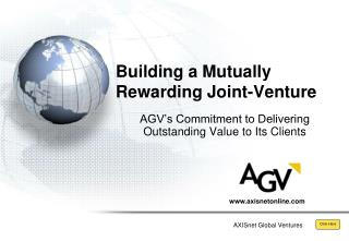 Building a Mutually Rewarding Joint-Venture
