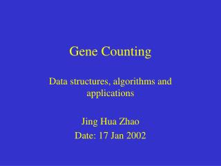 Gene Counting