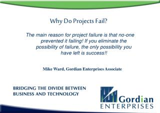 Why Do Projects Fail?