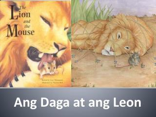 Ang Daga at ang Leon