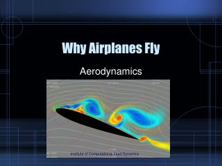 Why Airplanes Fly