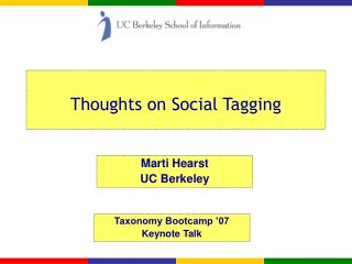 Thoughts on Social Tagging