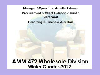 AMM 472 Wholesale Division