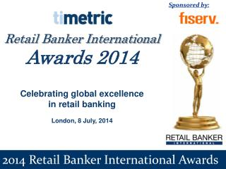 2014 Retail Banker International Awards