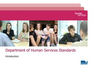Department of Human Services Standards