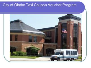City of Olathe Taxi Coupon Voucher Program