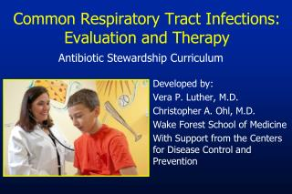Common Respiratory Tract Infections: Evaluation and Therapy