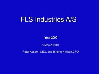 FLS Industries A/S