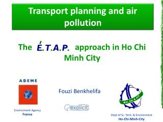 Transport planning and air pollution