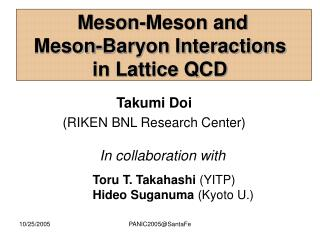Meson-Meson and  Meson-Baryon Interactions in Lattice QCD