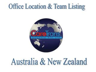 Office Location  Team Listing