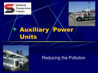 Auxiliary  Power Units